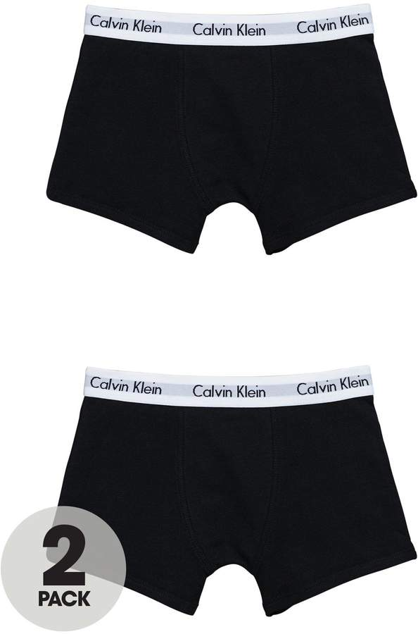 Boys Black Trunks (2 Pack)