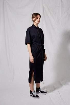 Boutique **utility shirt dress