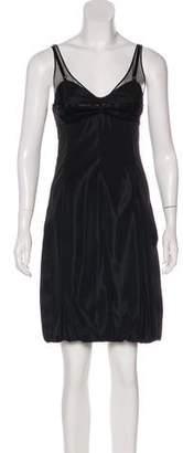 Balenciaga Bustier Mini Dress