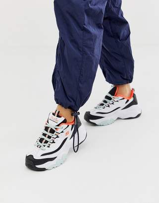 Skechers D'Lites 3.0 Blast chunky trainer in mono and orange