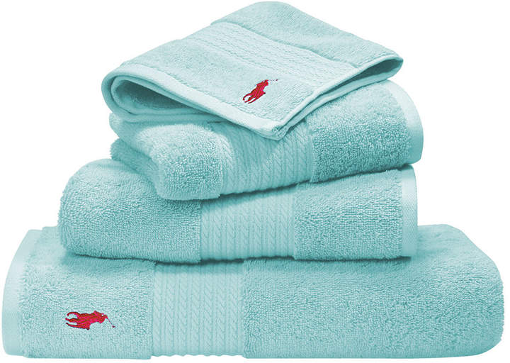 Player Towel - Aqua - Bath Towel
