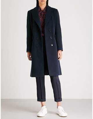 Claudie Pierlot Wool and cashmere-blend coat