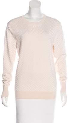 Theory Jacquard Wool-Blend Sweater