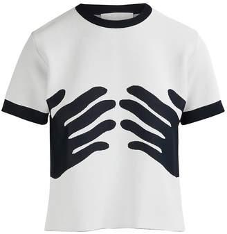 Rudi Gernreich Short-sleeved Hands top