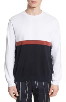 TOMORROWLAND Colorblock Crewneck Sweater