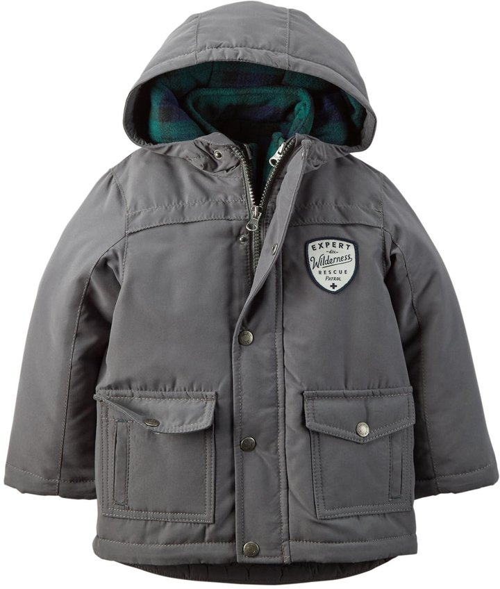 Carter's Carter's 4 In 1 Systems Jacket (Toddler/Kid) - Grey-2T