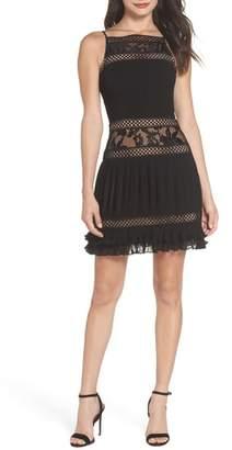 Adelyn Rae Nia Pleated A-Line Dress