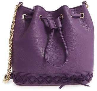Jules Kae Veronica Faux Leather Bucket Bag