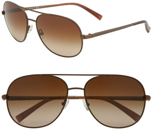 Tory Burch 'Glam Caravan  Large' Sunglasses