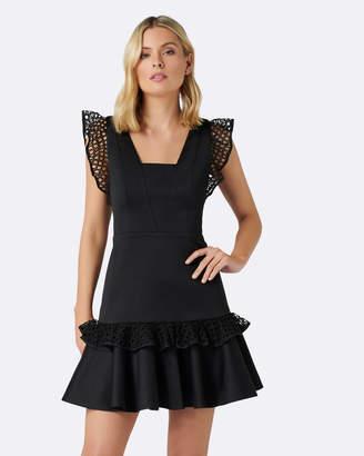 Forever New Kady Lace Trim Dress