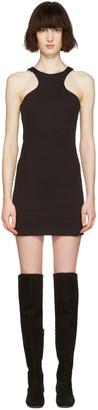 Dsquared2 Black Compact Cotton Dress $670 thestylecure.com