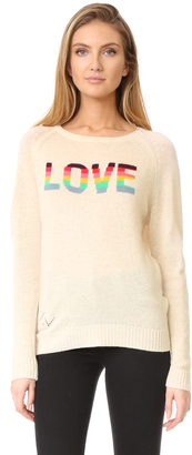Zadig & Voltaire Baily Bis Cashmere Sweater $398 thestylecure.com