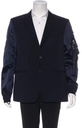 Givenchy Wool Satin-Trimmed Blazer