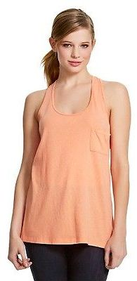 Women's Drapey Tank with Pocket - Mossimo $12 thestylecure.com