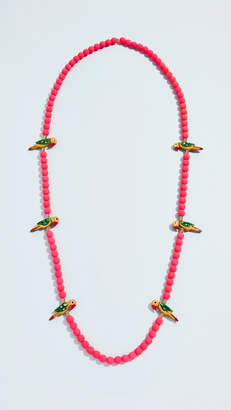 Lee Holst + Birds of Paradise Necklace