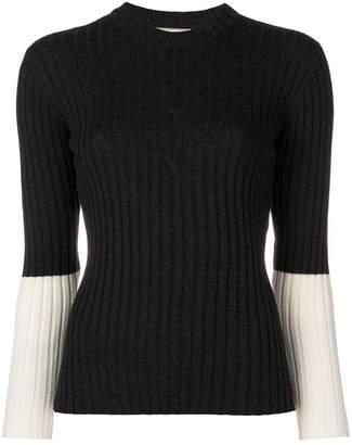 MAISON KITSUNÉ cable knit jumper