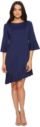 Susana Monaco Cecelie Ruffle Edge Dress Women's Dress