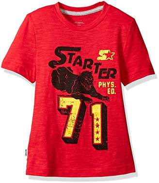 Starter Girls' Short Sleeve Panther '71 Logo T-Shirt