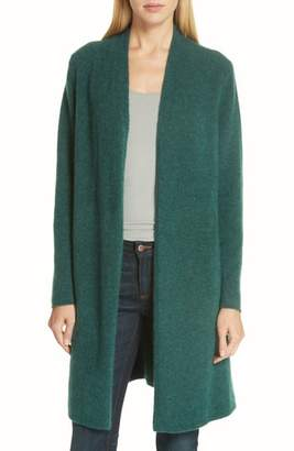Eileen Fisher Cashmere & Silk Blend Open Cardigan