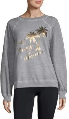 Wildfox Couture Easy Breezy Raglan-Sleeve Sweatshirt