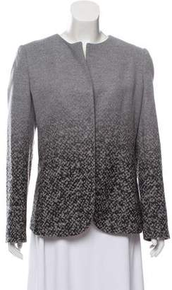 Giorgio Armani Printed Wool Jacket