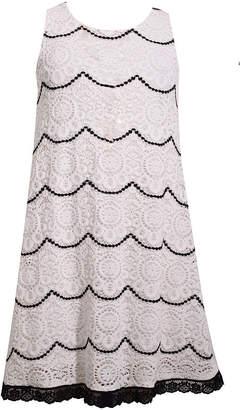 Bonnie Jean Sleeveless Shift Dress Girls