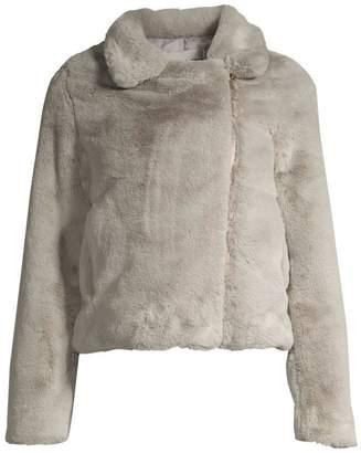 Apparis Leila Faux Fur Crop Jacket