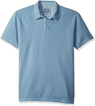 Lucky Brand Men's Sueded Polo