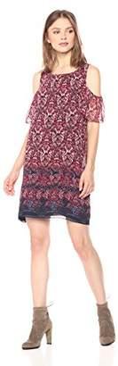 Ella Moon Women's Marin Cold Shoulder Dress