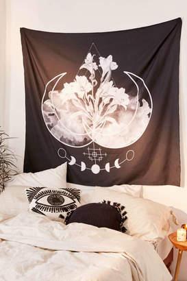 Deny Designs Alesaenzart For Deny Moonflower Tapestry