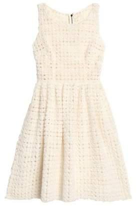 Dolce & Gabbana Floral-Appliquéd Tulle Dress