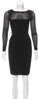 Diane von Furstenberg Long Sleeve Knee-Length Dress