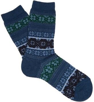 Falke Oslo Ankle Socks - Womens - Blue Print