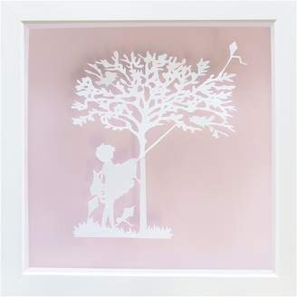 Almond Tree Designs Vintage Kids Entangled Kite Wall Art, Almond Light Pink