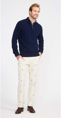 J.Mclaughlin Thoreau Embroidered Corduroy Pants in Cheers