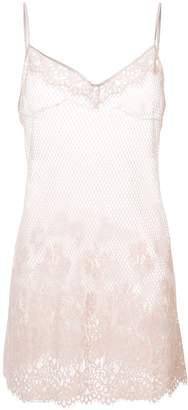 FENTY PUMA by Rihanna floral mesh sleepwear teddy