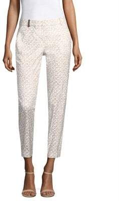Peserico Circle-Print Pants