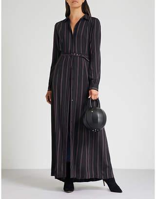 Paige Nayven striped crepe maxi dress