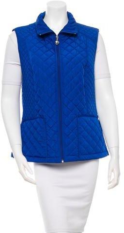 Calvin Klein Cobalt Quilted Vest