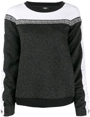 Liu Jo logo band sweater