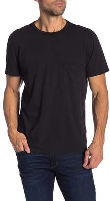 7 For All Mankind Crew Neck Pocket Short Sleeve Tee