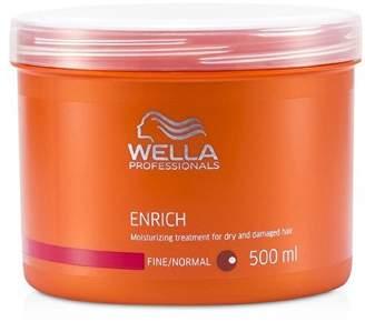 Wella Enrich Moisturizing Treatment For Dry & Damaged Hair (Fine/Normal) - 500ml/16.7oz