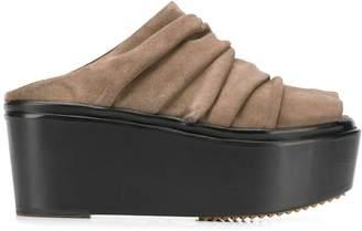 Rick Owens flatform sandals