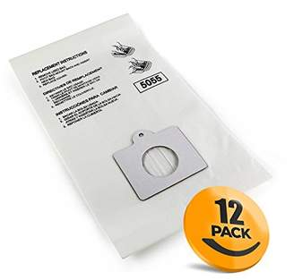KJ Clothing K&J 12-Pack Type C Canister Vacuum Bags - Compatible All Kenmore C