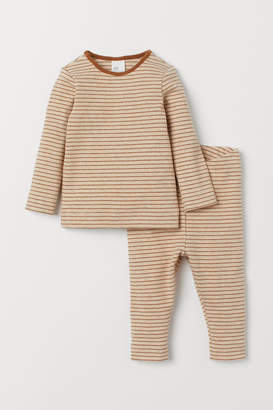 H&M Cotton top and leggings