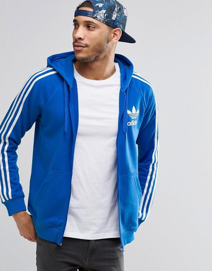 adidas Originals Trefoil Zip Hoodie AY7787
