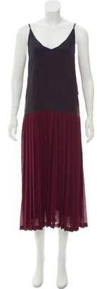 Rachel Comey Sleeveless Colorblock Dress