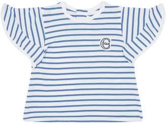 Chloé Ruffle Shoulder T-Shirt