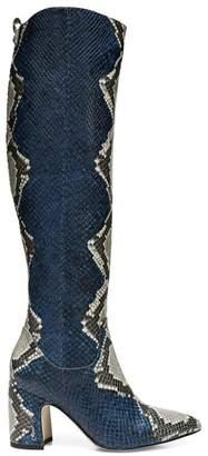 be61d93ca2c Sam Edelman Hai Snakeskin Knee-High Boots