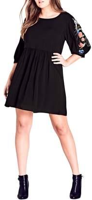 City Chic Phoenix Dress
